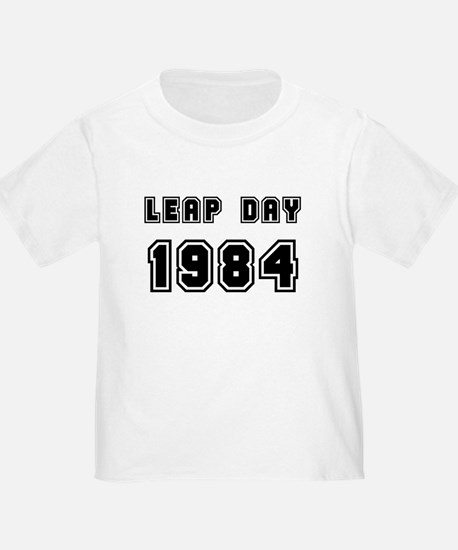 LEAP DAY 1984 T