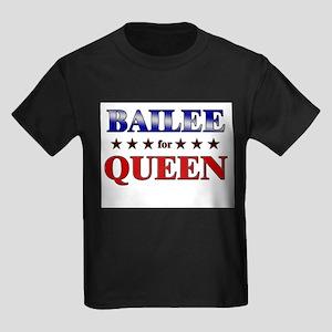 BAILEE for queen Kids Dark T-Shirt