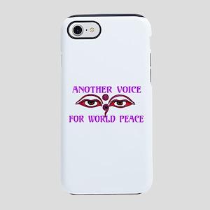 Voice For Peace iPhone 8/7 Tough Case