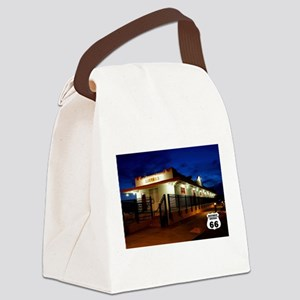 Sante Fe Railroad Station, Kingma Canvas Lunch Bag