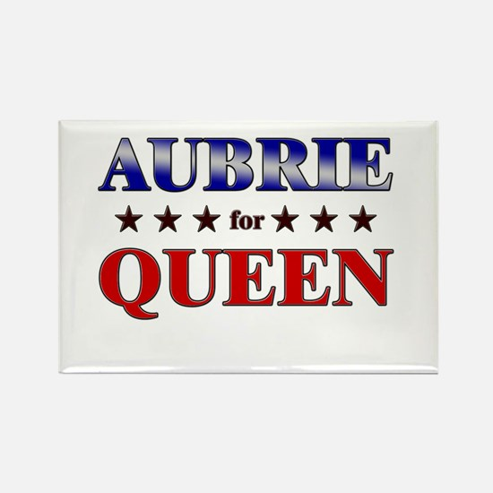 AUBRIE for queen Rectangle Magnet
