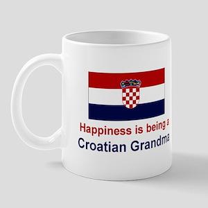 Happy Croatian Grandma Mug