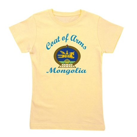 Coat Of Arms Mongolia Country Designs Girl's Tee