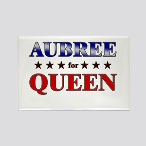 AUBREE for queen Rectangle Magnet