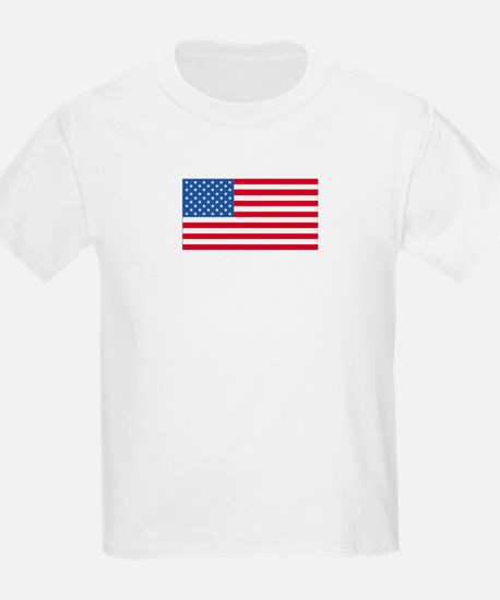 United States - American Flag Kids T-Shirt