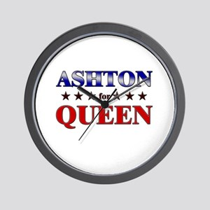 ASHTON for queen Wall Clock