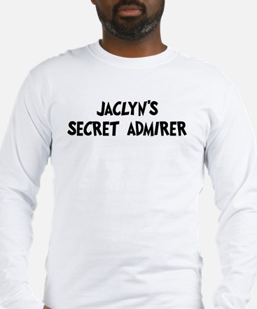 Jaclyns secret admirer Long Sleeve T-Shirt