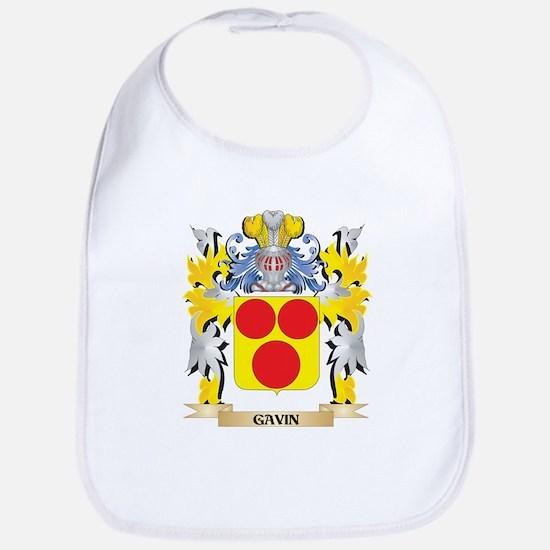 Gavin Coat of Arms - Family Crest Baby Bib