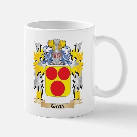 Gavin Coat of Arms - Family Crest Mugs