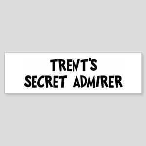 Trents secret admirer Bumper Sticker
