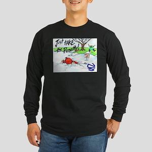 Thin Ice Long Sleeve Dark T-Shirt