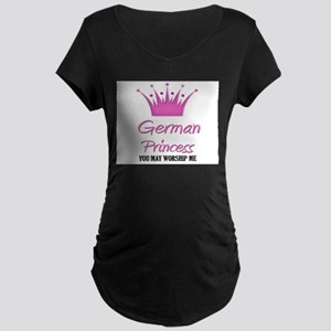 German Princess Maternity Dark T-Shirt