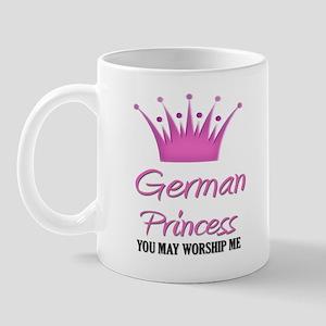 German Princess Mug