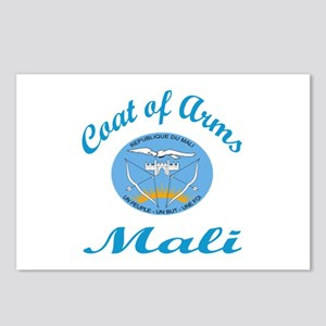 Coat Of Arms Mali Country Postcards (Package of 8)
