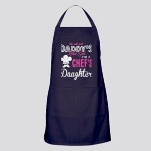 Daddy's Little Girl T Shirt, Chef's D Apron (dark)
