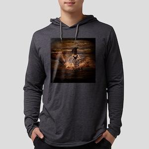 barnwood wild loon Long Sleeve T-Shirt