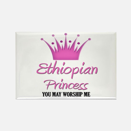Ethiopian Princess Rectangle Magnet