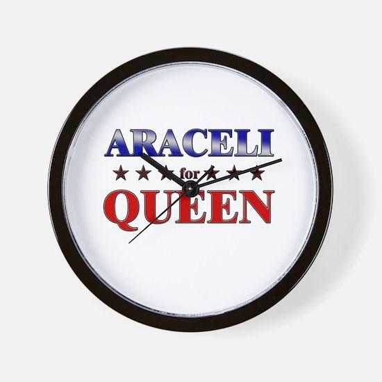 ARACELI for queen Wall Clock