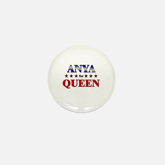 ANYA for queen Mini Button