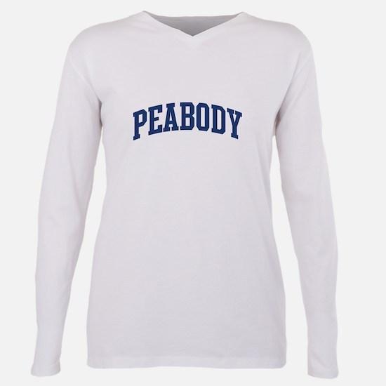 PEABODY design (blue) T-Shirt