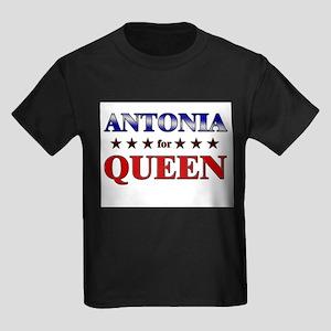 ANTONIA for queen Kids Dark T-Shirt