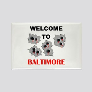 BALTIMORE WELCOME Rectangle Magnet