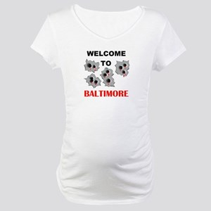 BALTIMORE WELCOME Maternity T-Shirt