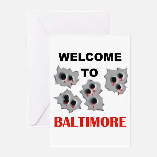 BALTIMORE WELCOME Greeting Card