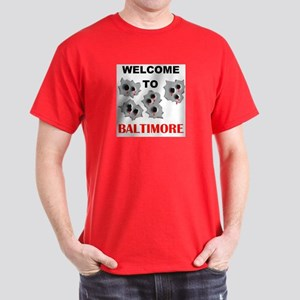 BALTIMORE WELCOME Dark T-Shirt