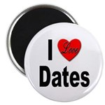 I Love Dates Magnet