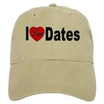 I Love Dates Cap