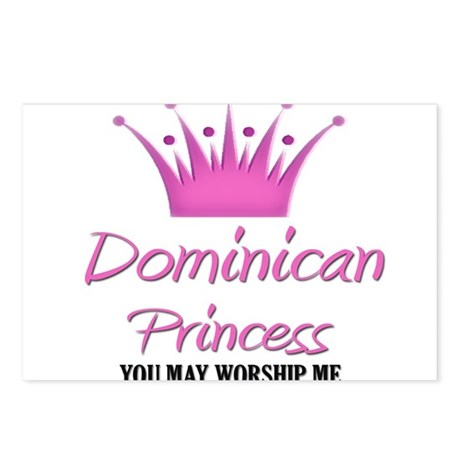 Dominican Princess Postcards (Package of 8)