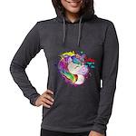 Happy Rainbow Unicorn Long Sleeve T-Shirt