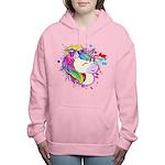 Happy Rainbow Unicorn Hooded Sweatshirt