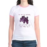 Be nice to bacteria Jr. Ringer T-Shirt