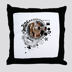 The Alchemy of Filmmaking Throw Pillow