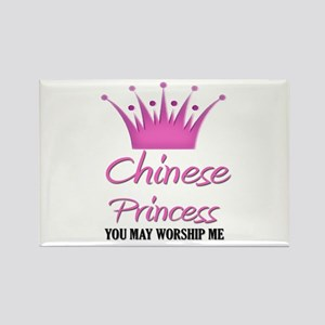 Chinese Princess Rectangle Magnet