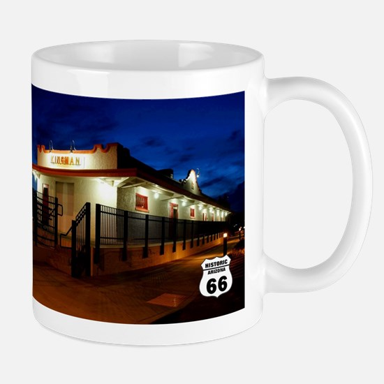 Sante Fe Railroad Station, Kingman Arizona Mugs
