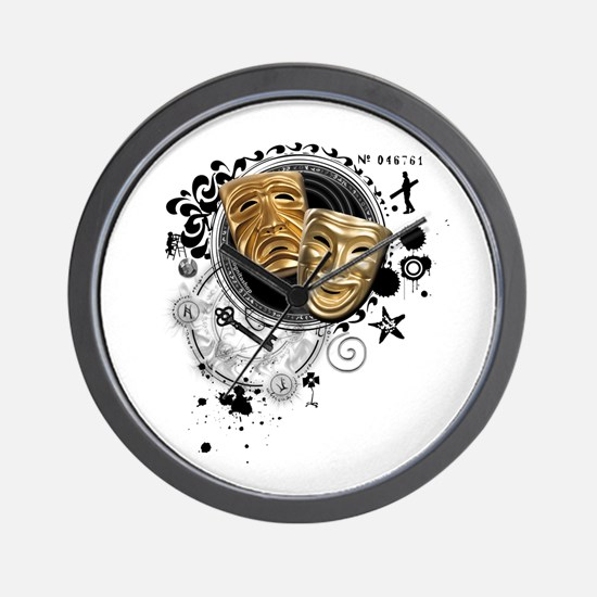 Alchemy of Theatre Production Wall Clock