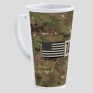 U.S. Air Force: TACP (Camo) 17 oz Latte Mug