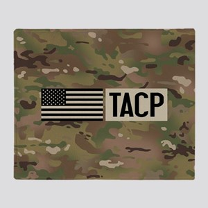 U.S. Air Force: TACP (Camo) Throw Blanket