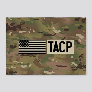 U.S. Air Force: TACP (Camo) 5'x7'Area Rug