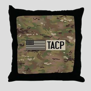 U.S. Air Force: TACP (Camo) Throw Pillow