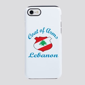 Coat Of Arms Lebanon Country iPhone 8/7 Tough Case