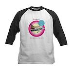 Dolphin Freckles Kids Baseball Jersey
