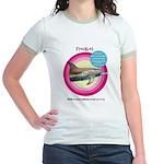 Dolphin Freckles Jr. Ringer T-Shirt