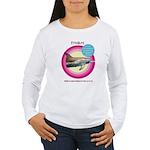 Dolphin Freckles Women's Long Sleeve T-Shirt