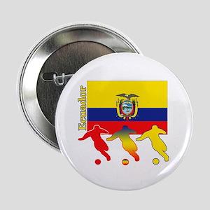 """Ecuador Soccer 2.25"""" Button (10 pack)"""