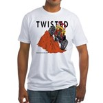 TWISTED Fitted T-Shirt
