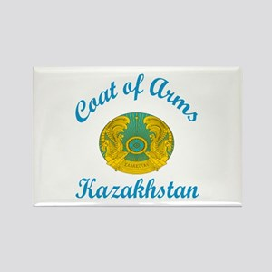 Coat Of Arms Kazakhstan Country D Rectangle Magnet